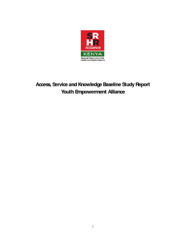 thumbnail of ask baseline survey report